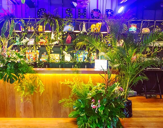 Welcome to the jungle . . . . . #gsession #gsessionofficial #tropicgsession #party #hotelparty #themeparty #nightlife #dance #travel #lifestylehotel #hotelgyangon #hotelsg #tropiccity #flamingo #prizes #sponsored #livemusic #dj #events #promoter #partytime #goodtimes #jungle #beats #djlife #drinks #festivals #yangon #myanmar #burma