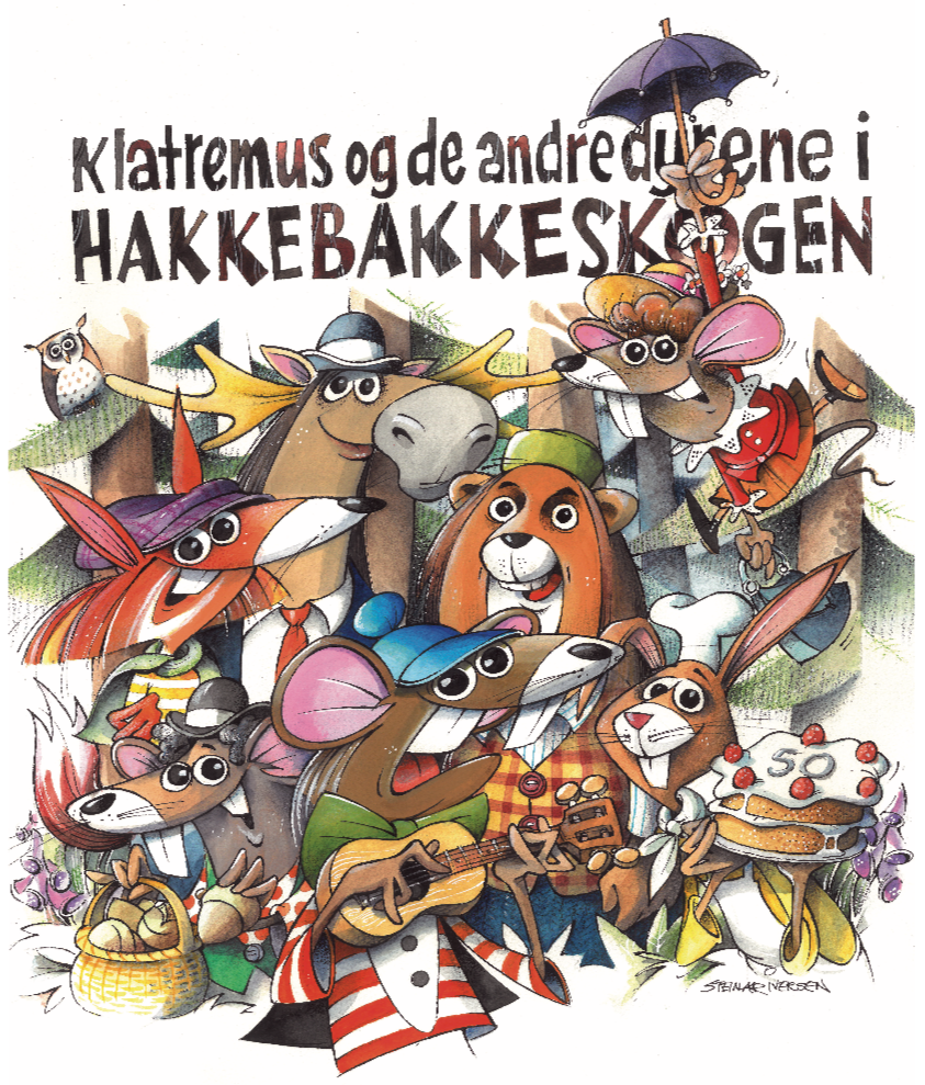 Klatremus og de andre dyrene i hakkebakkeskogen - Hovedforestilling 2002