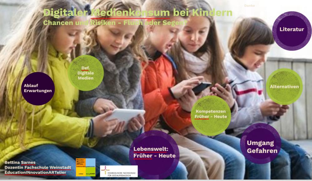 """""""Digitaler Medienkonsum"""" - Eltern- oder TeamabendDigitale Medien - Fluch oder Segen, Chance und Herausforderung"""