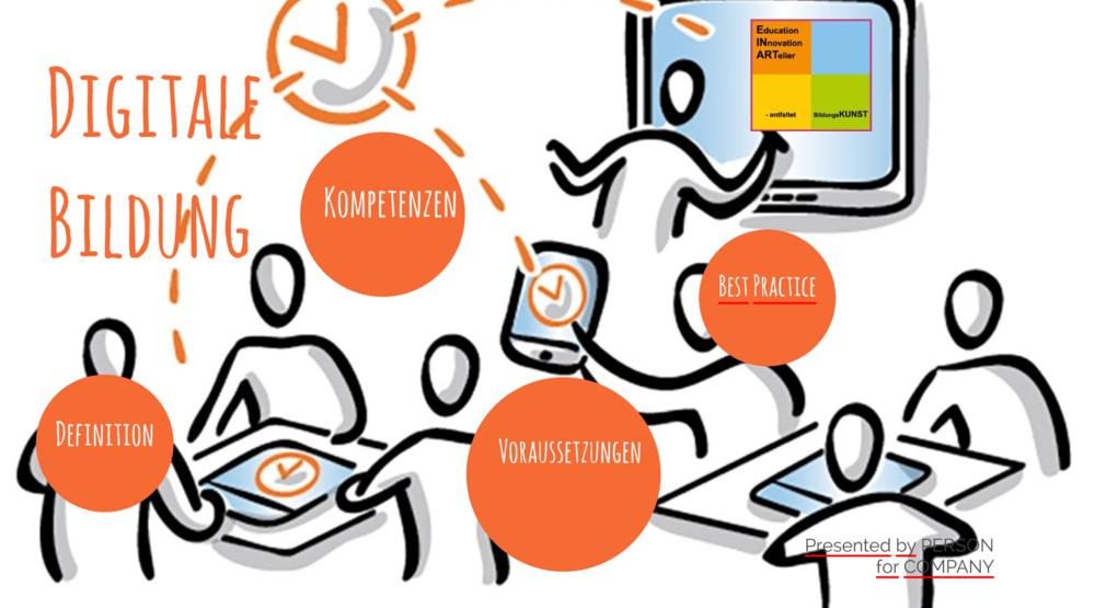 """""""Digitale Bildung"""" - Elter- oder TeamabendDigitale Bildung in Schule und Kita impementierenTools und Gefahren"""