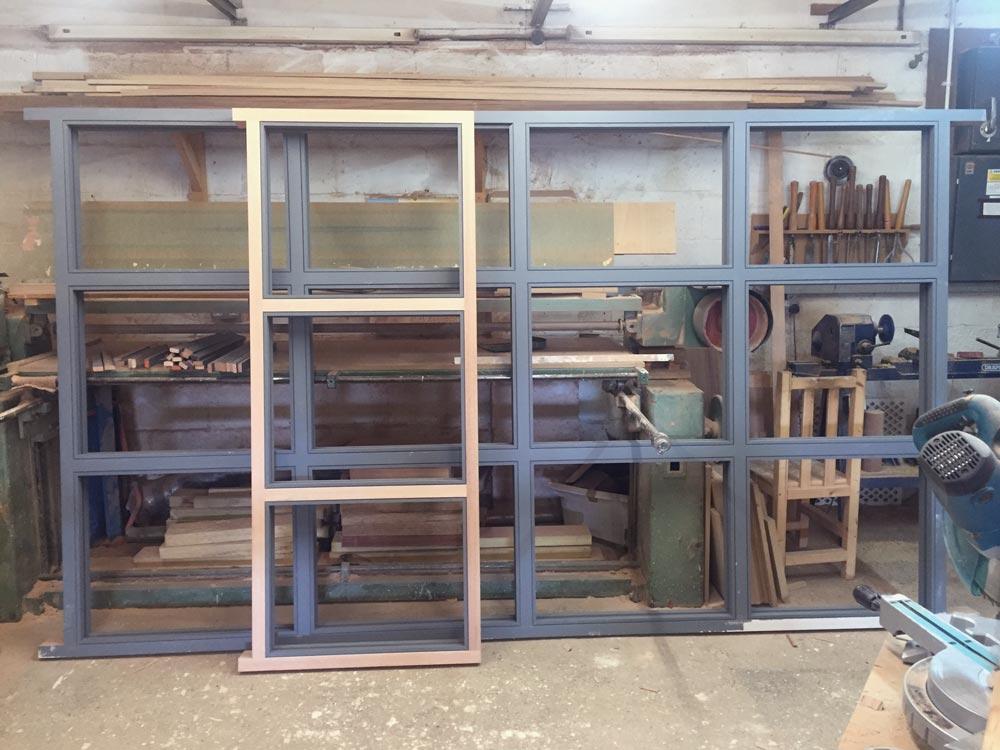 Bespoke joinery in progress!