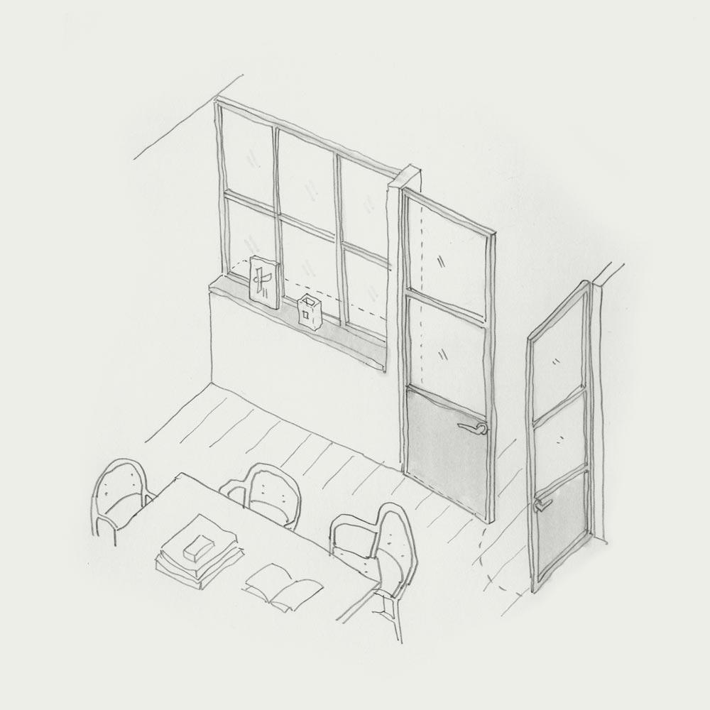 Meeting Room doodle.