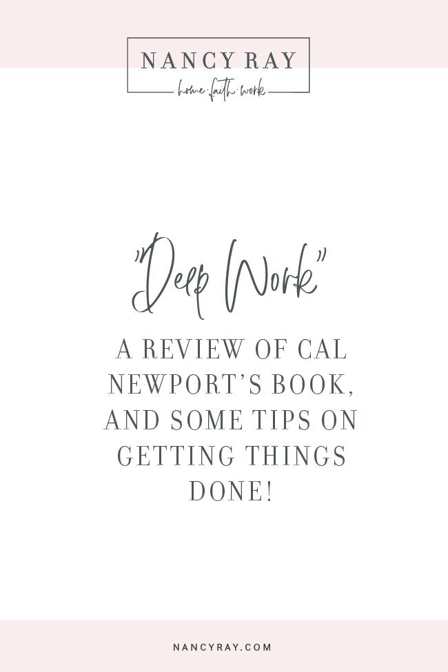 Deep Work Review