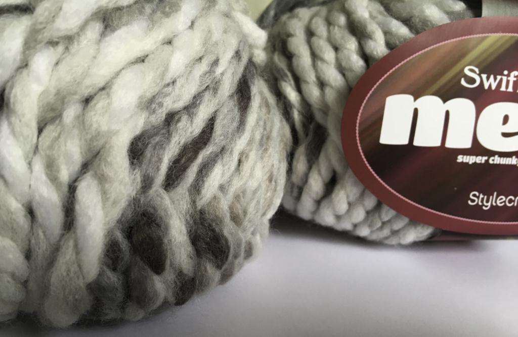 Stylecraft Swift Knit Mega – Ash