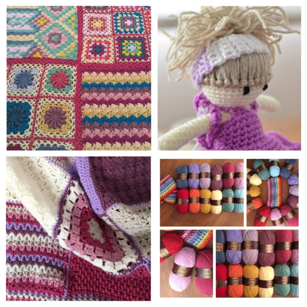 Mixture of designs and wool