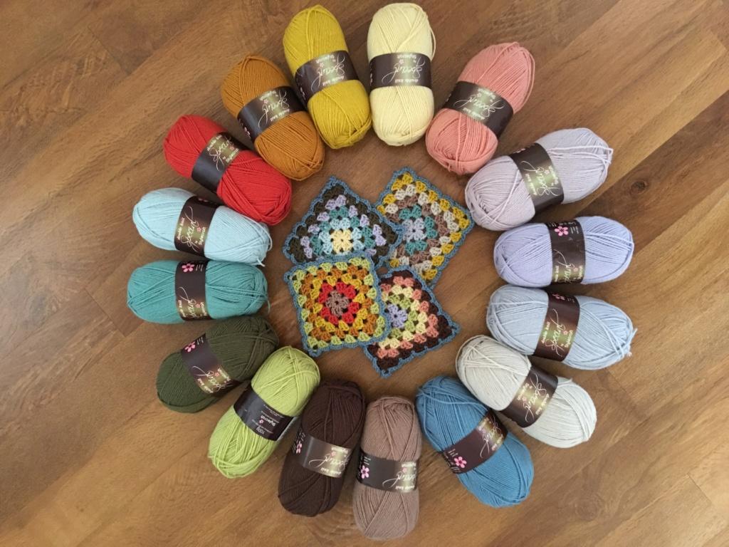Blanket colours