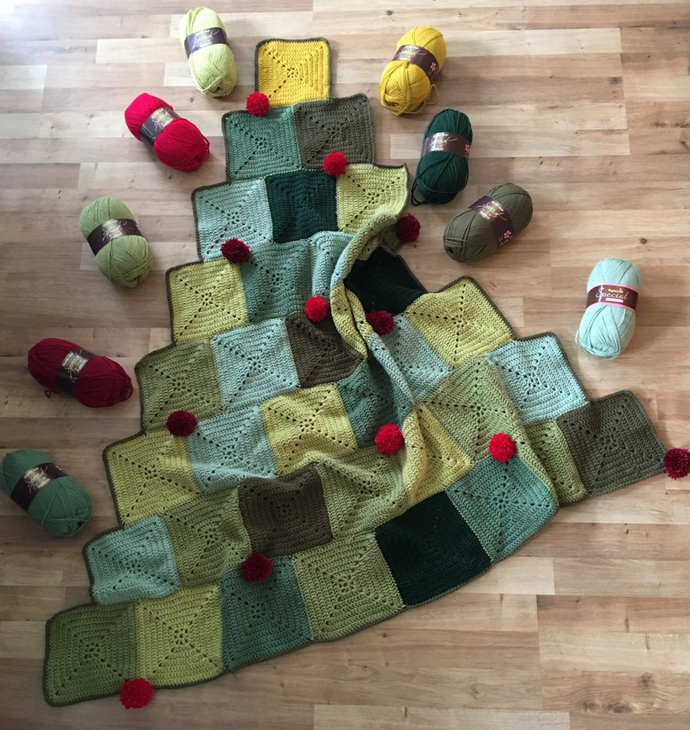 Christmas Tree Blanket