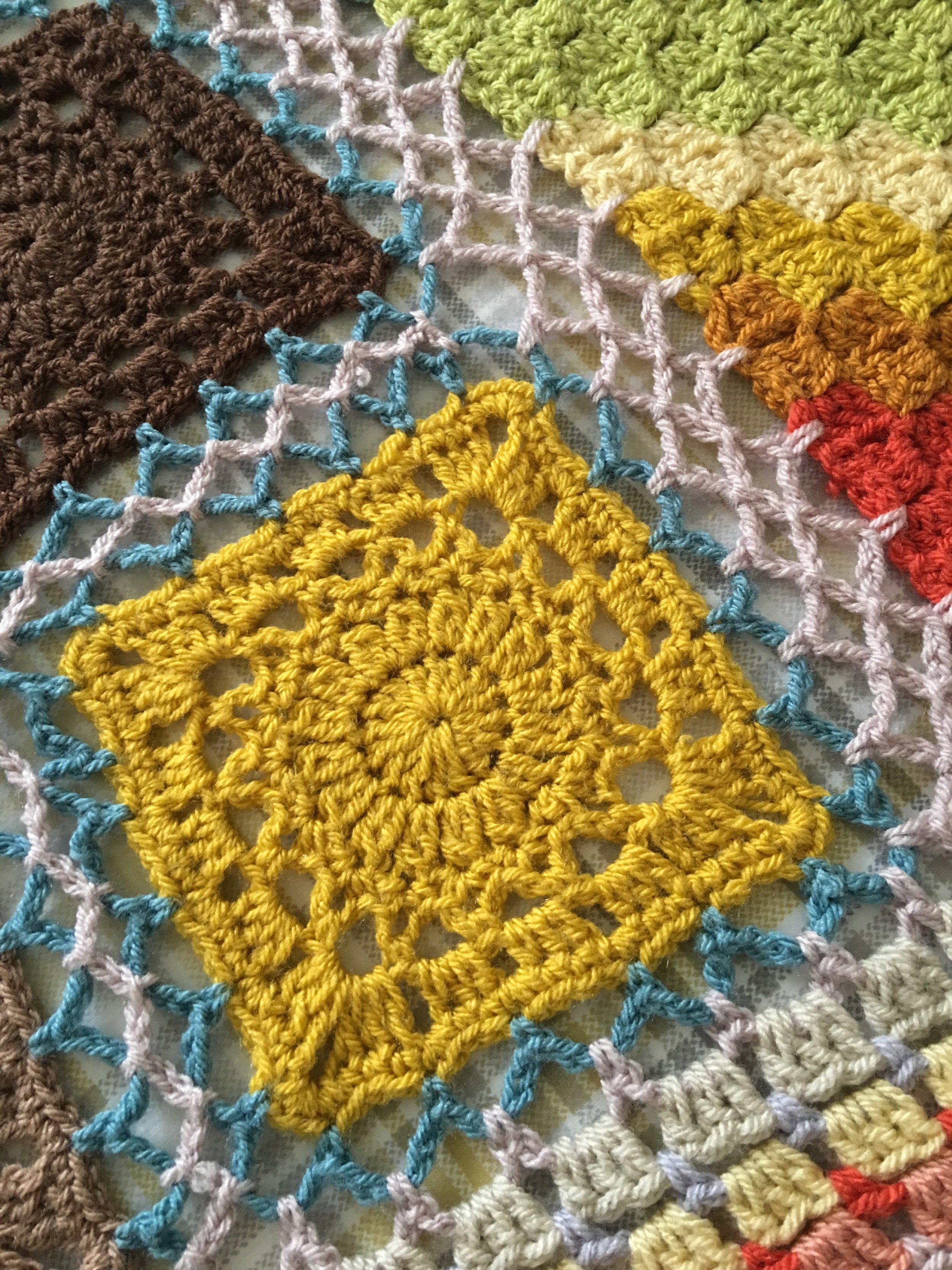 Retro yarn pack - Gold Square
