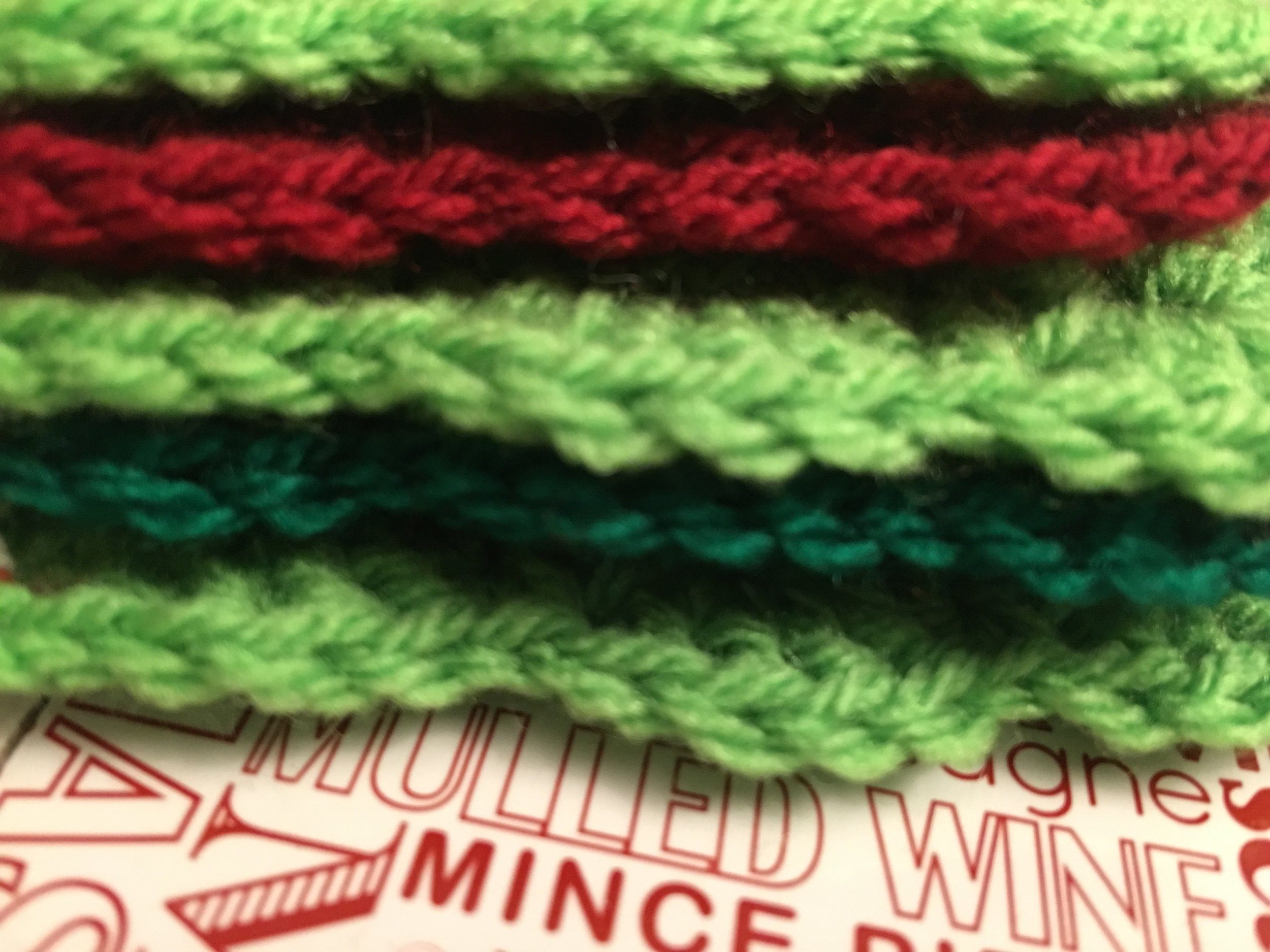Lovely pile of Christmas colours