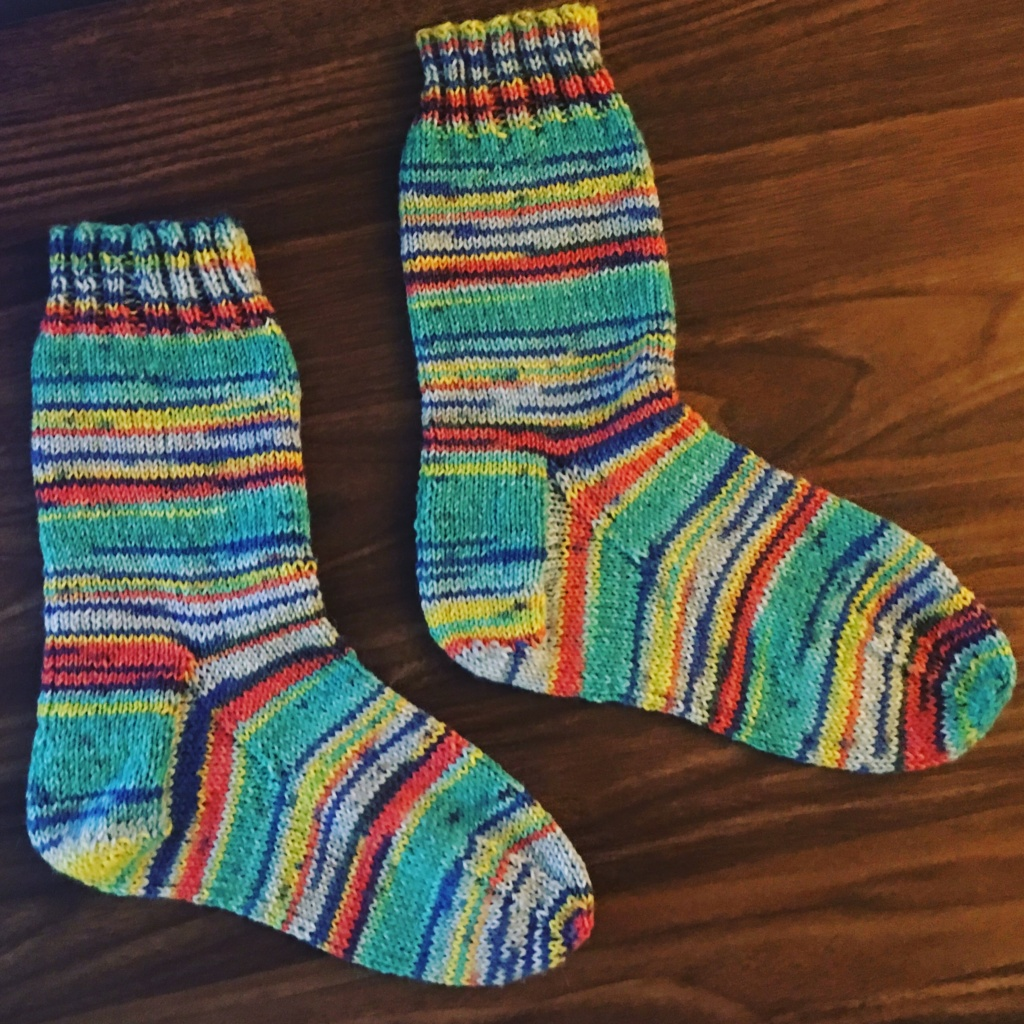 My first pair of socks