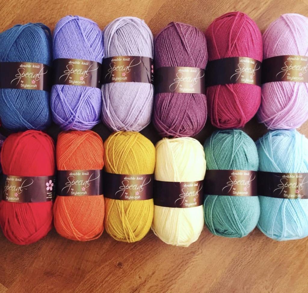 Stylecraft yarn pack