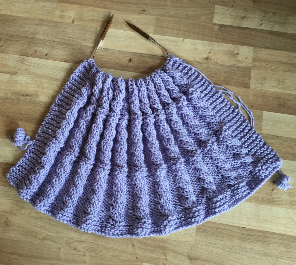 Knitted Blanket using Stylecraft Weekender