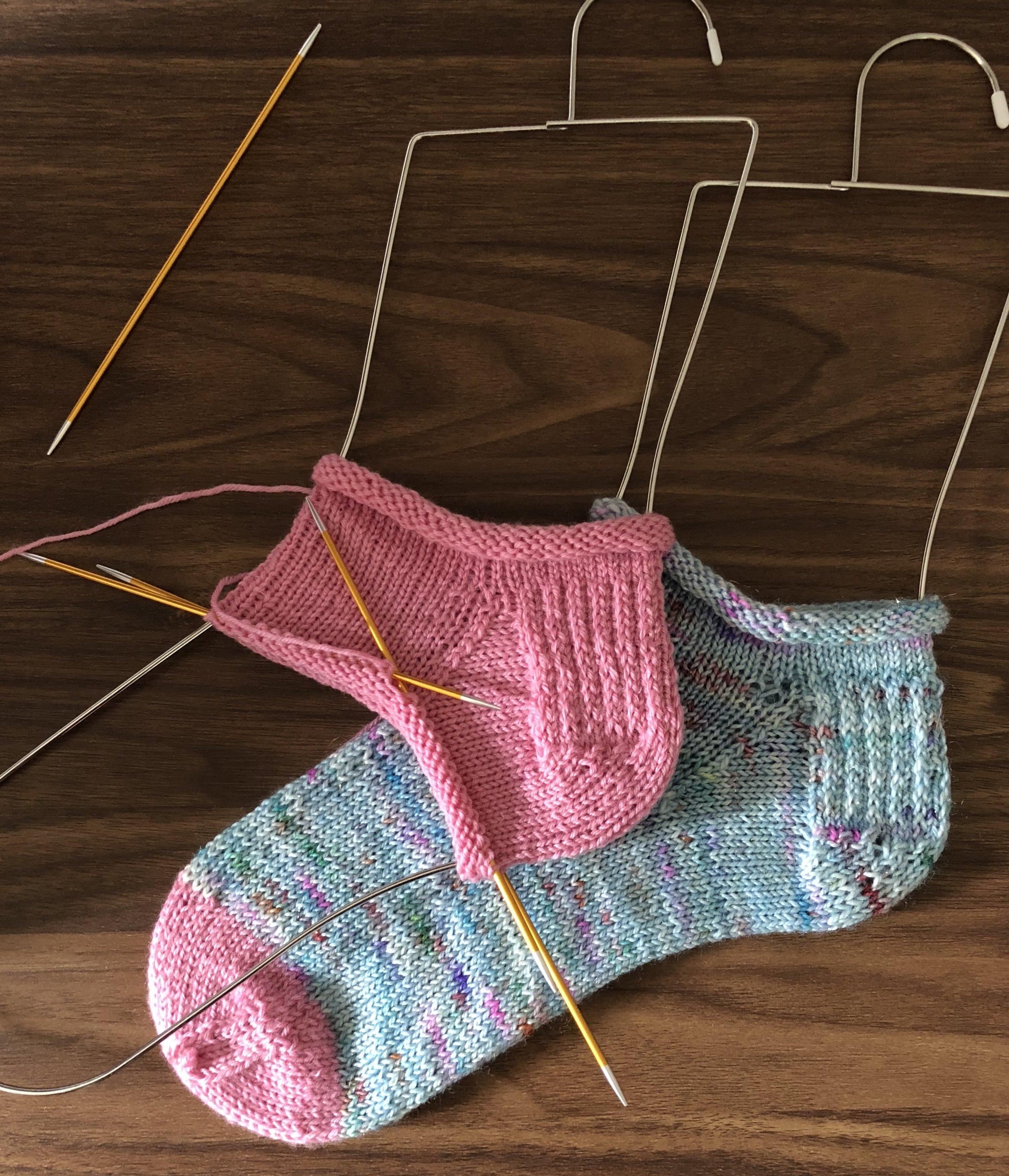 Socks on the blockers