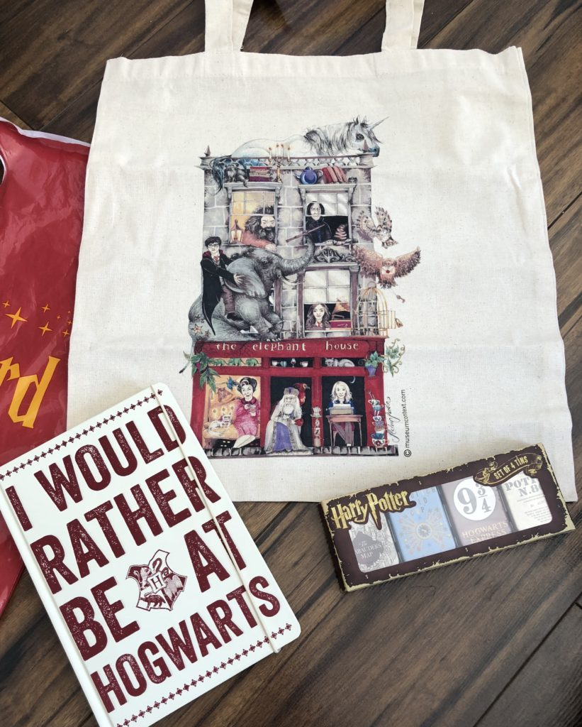 A few Harry Potter purchases
