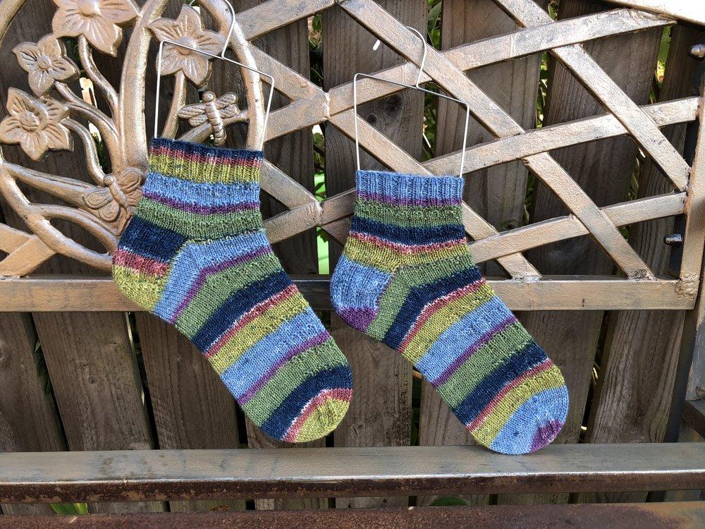 Garden Party Sock Recipe
