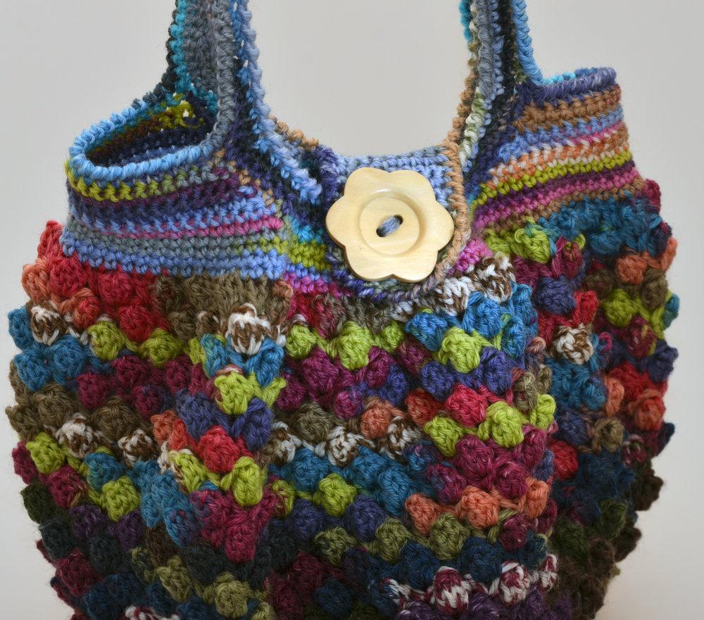 Crochet Holiday Handbag Pattern