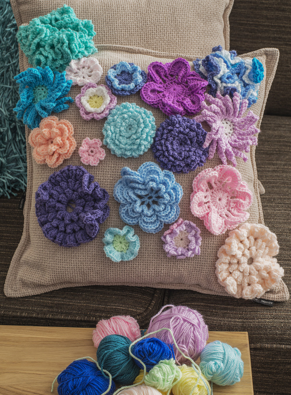 Flower Frenzy Crochet Pattern