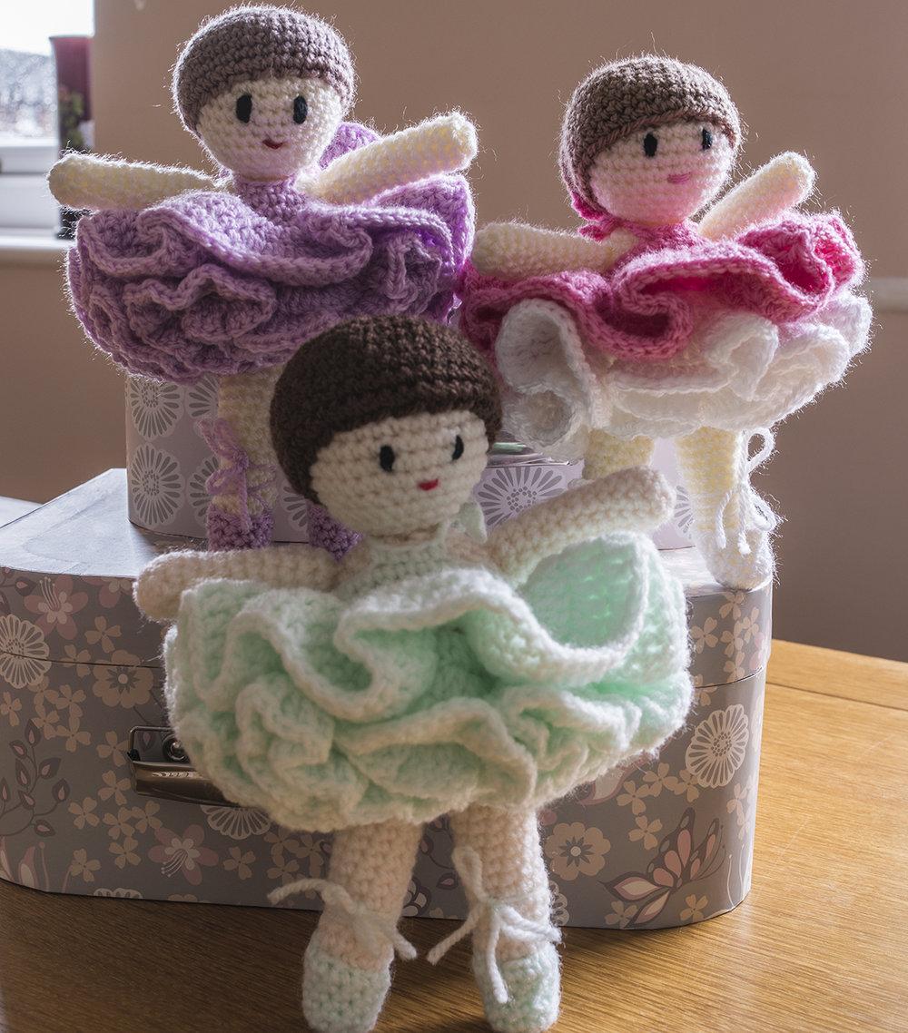 Ballerina Belles Crochet Pattern