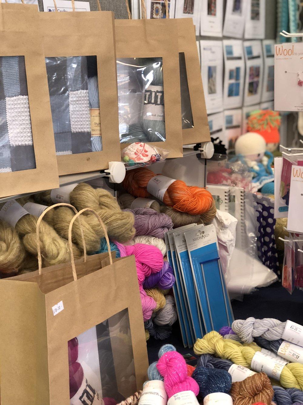 Kits, wool and patterns