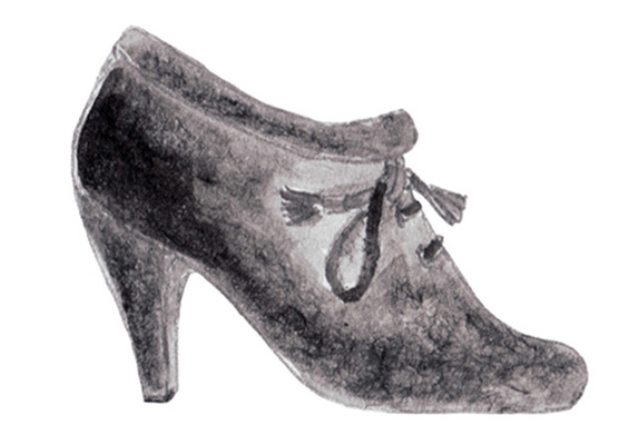 Illustration, shoes