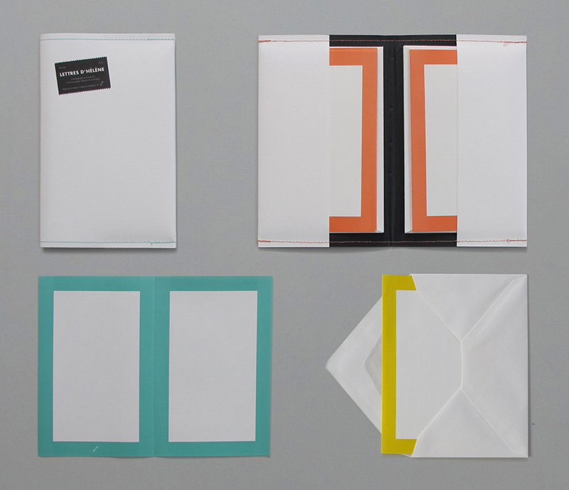 Stationery set, Lettres d'Hélène