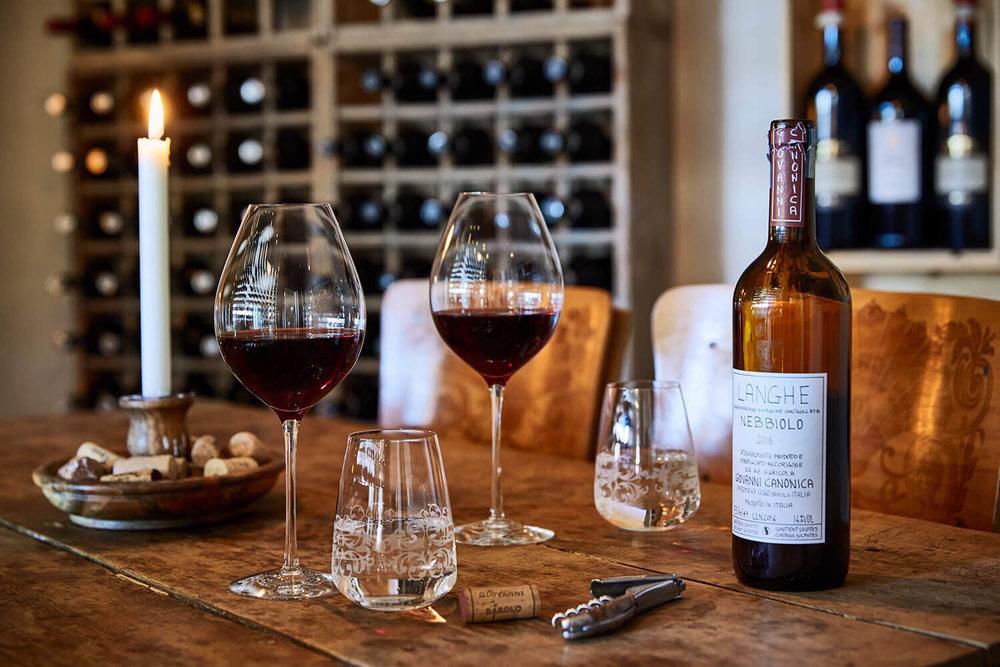 Vinrummet - Ett chambre separée för sällskap som vill ha en gastronomi- och vinupplevelse utöver det vanliga