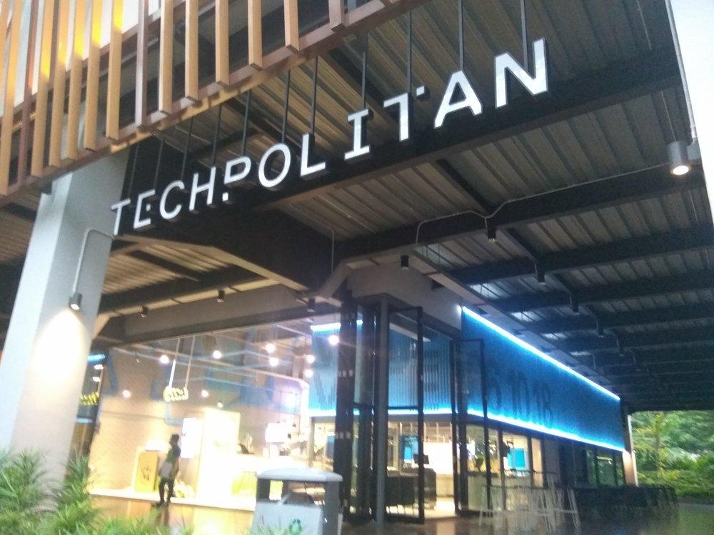 Techpolitan Entrance