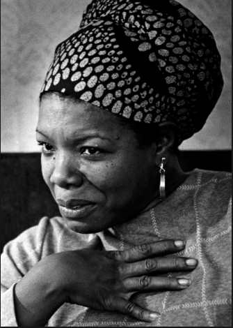 Maya Angelou ·  Credit: Craig Herndon, Washington Post)