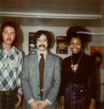 Paul Soglin visiting the East Madison Community Center, mid-1970's