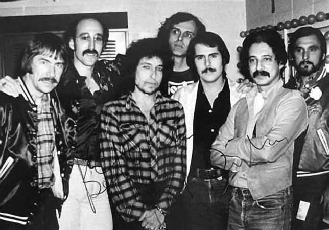 Paul Soglin and Bob Dylan