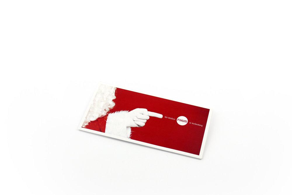 Fixum Weihnachtskarte