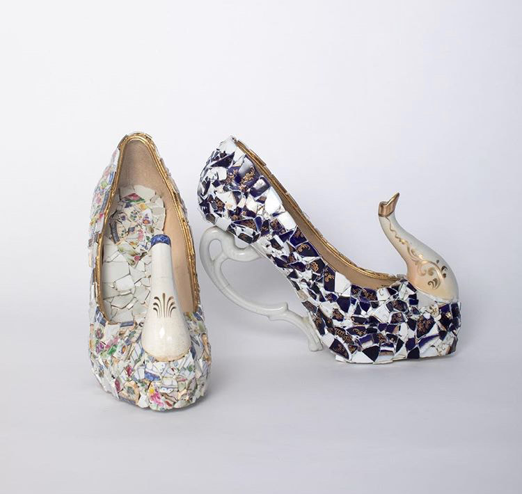 Teapot Shoes by Callie Barnas