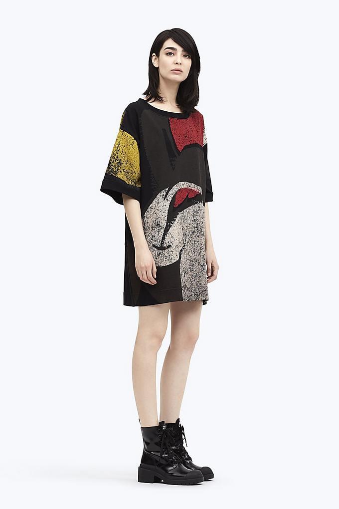 Short Sleeve Mickey Dress