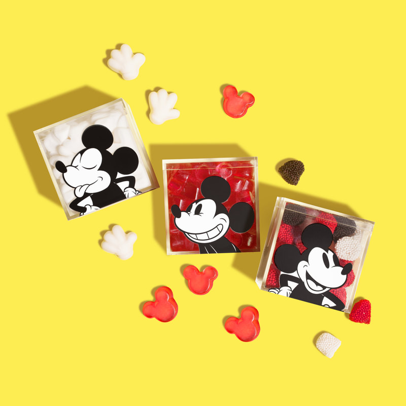 Disney Mickey Mouse Gloves, Ears, and Buttons