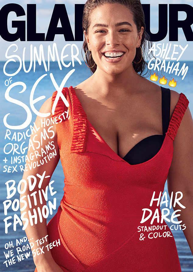Ashley Graham on the cover of Glamour Magazine.