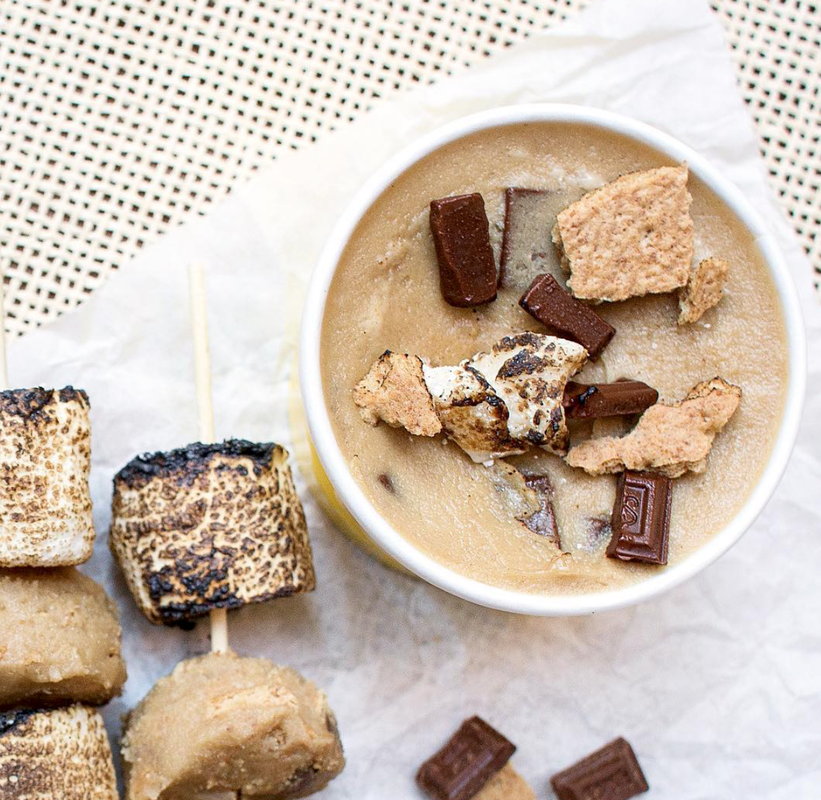 Gimme S'more (signature + hershey bar + toasted marshmallows + graham crackers)