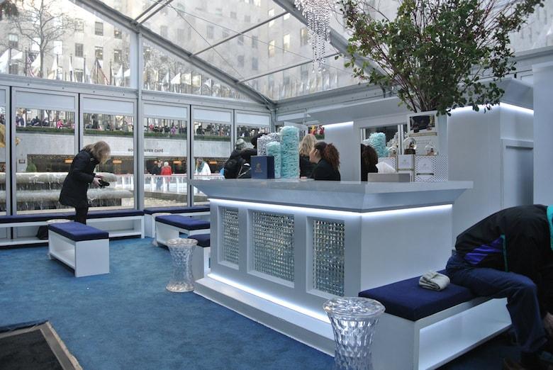 The VIP Igloo at Rockefeller Center