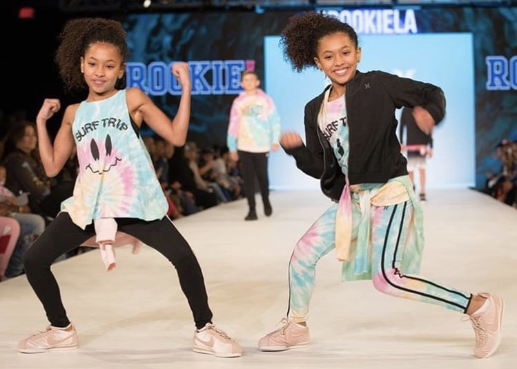 Walking the runway for Rookie USA