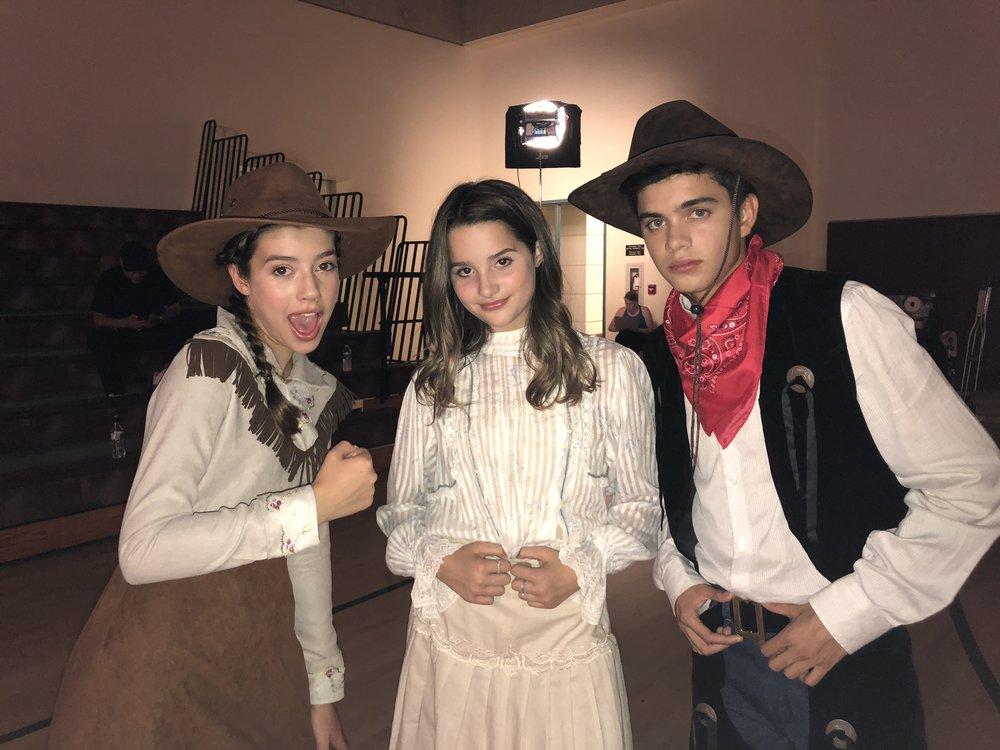 Sheridan with LeBlanc and Ulloa