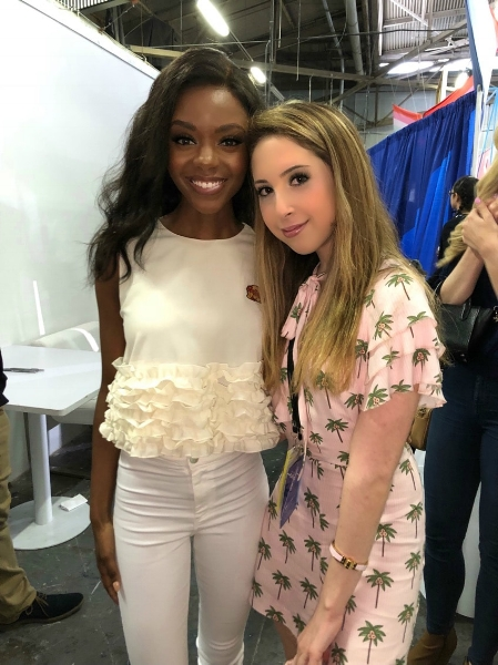 Ashleigh Murray and Me