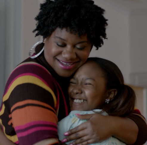Donshea with Adrienne C. Moore on Orange is the New Black
