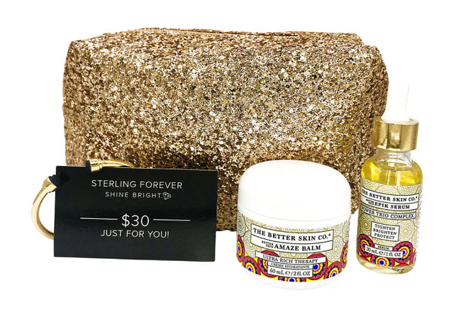 "3. The Better Skin Co. x Sterling Forever ""Jewels of the Holiday"" Collaboration"