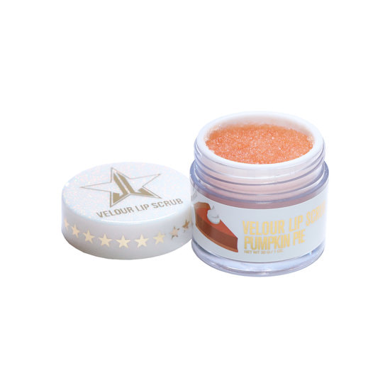 2. Jeffree Star Velour Lip Scrub in Pumpkin Pie