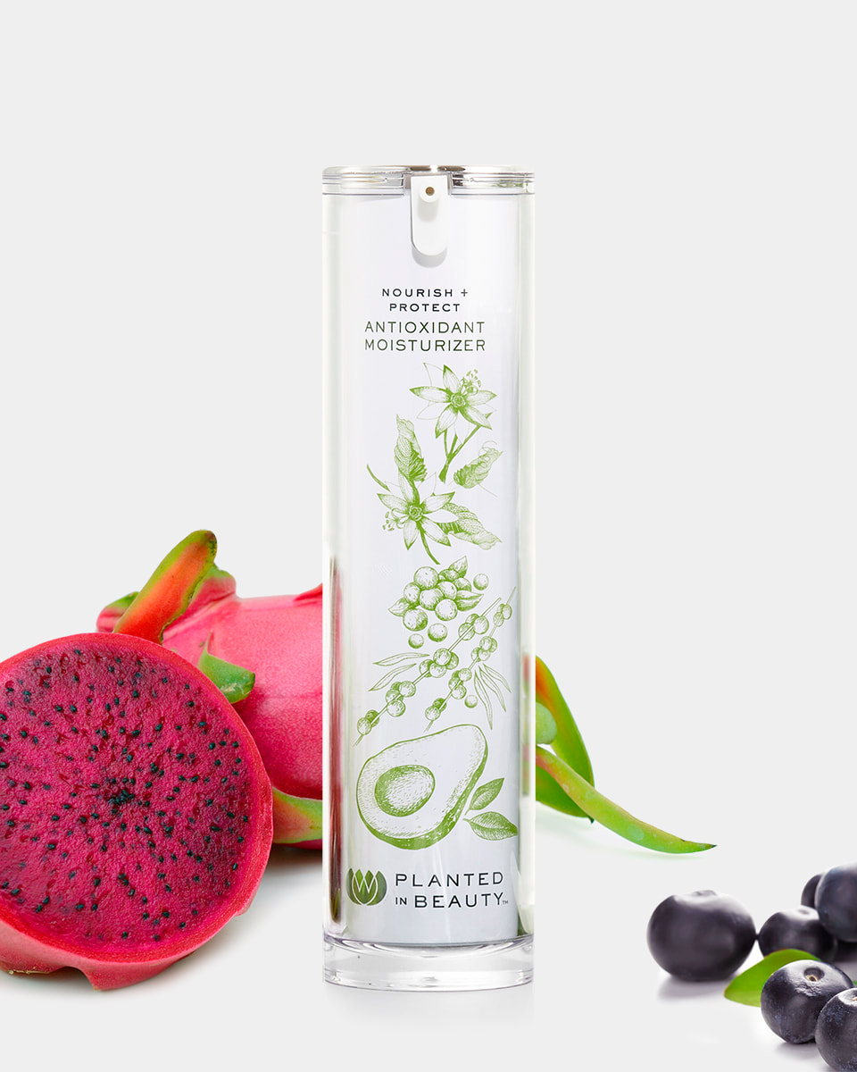 6. Planted in Beauty Nourish + Protect Antioxidant Moisturizer
