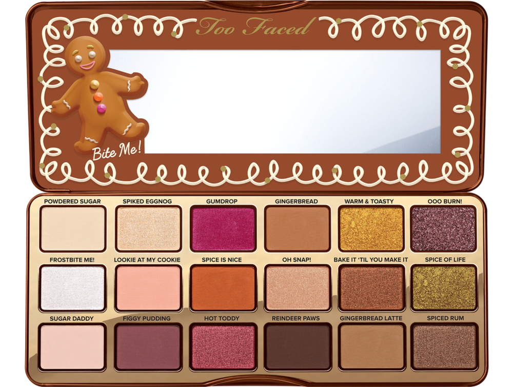 7. Too Faced Gingerbread Spice Eyeshadow Palette