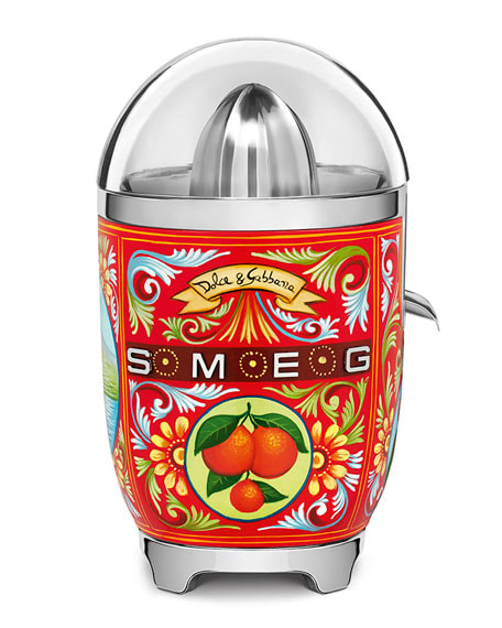1. Dolce and Gabbana x SMEG Siciliy Is My Love Juicer