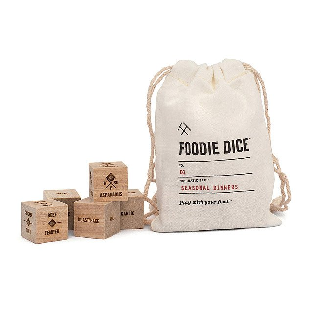 4. UncommonGoods Foodie Dice