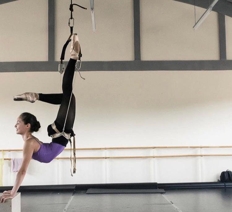 Juliet on the set of High Strung: Free Dance