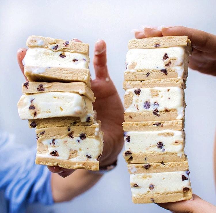 Cookie Dō Ice Cream Sandwiches