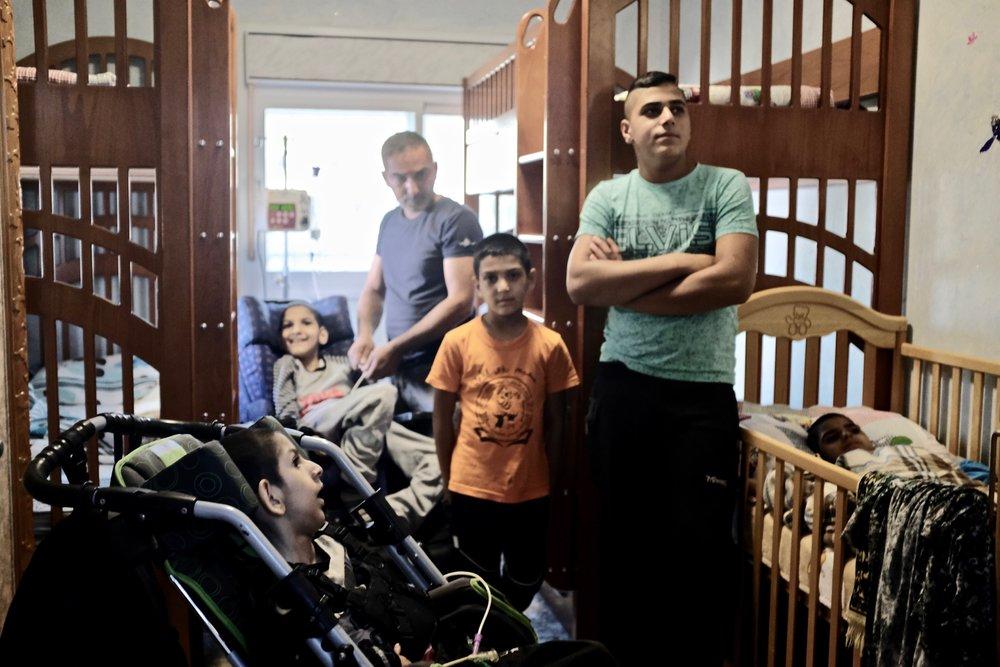 Five Children in One Room